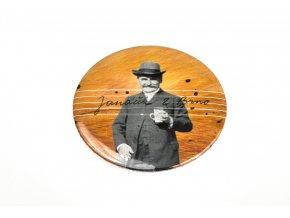 Zrcátko s motivem Leoše Janáčka